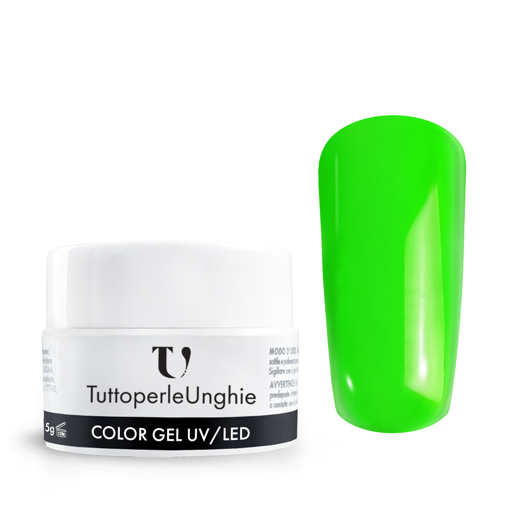 Gel UV / Led Neon Verde 5 g