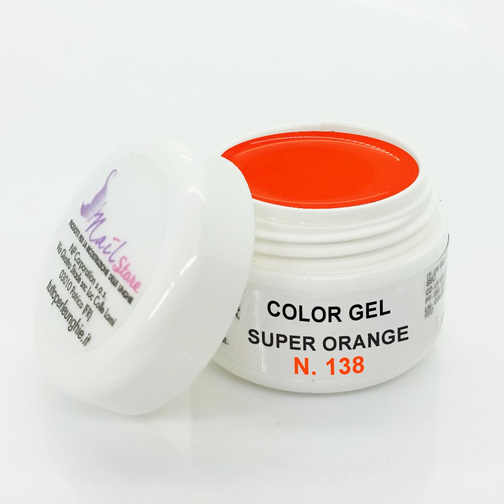 Gel UV Super Orange 5 ml