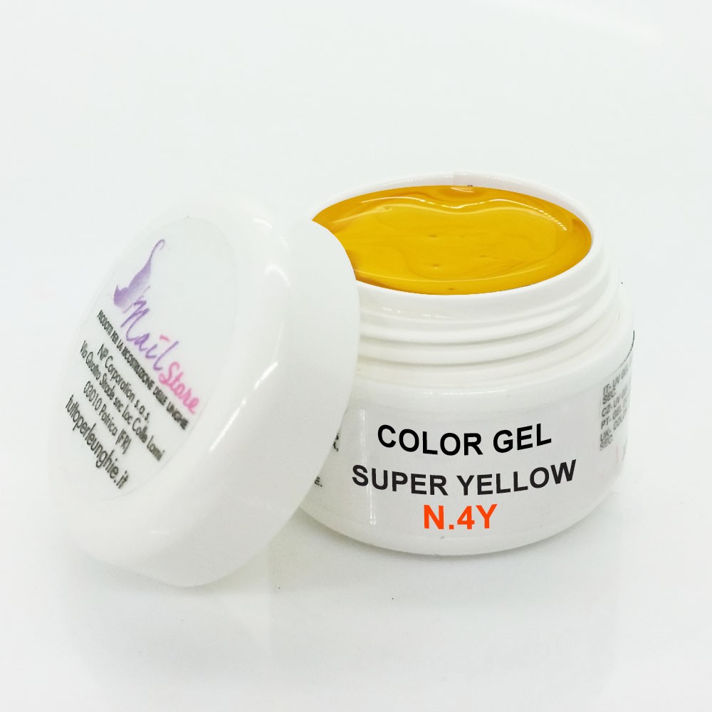 Gel UV Super Yellow 5 ml