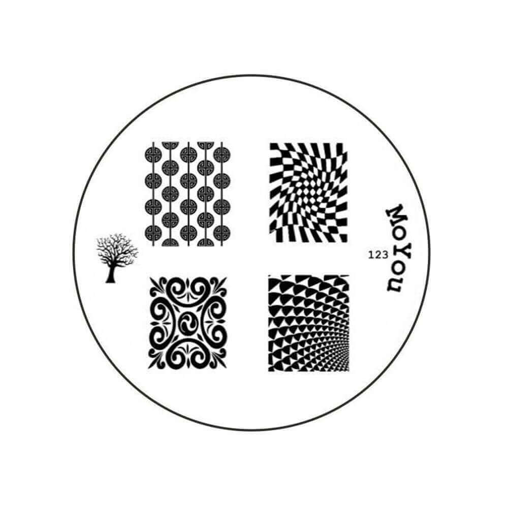 Dischetto per Stamping MoYou n.123