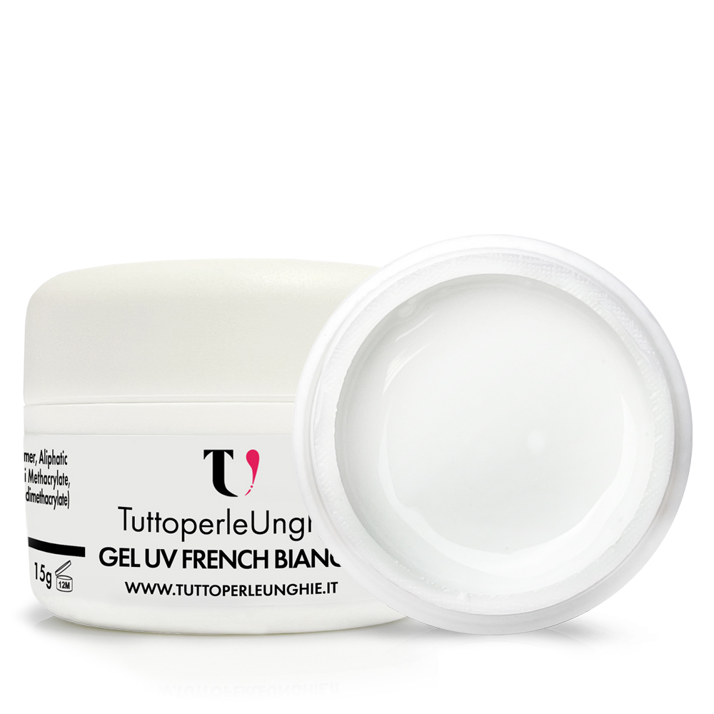 Gel UV French Bianco 15g