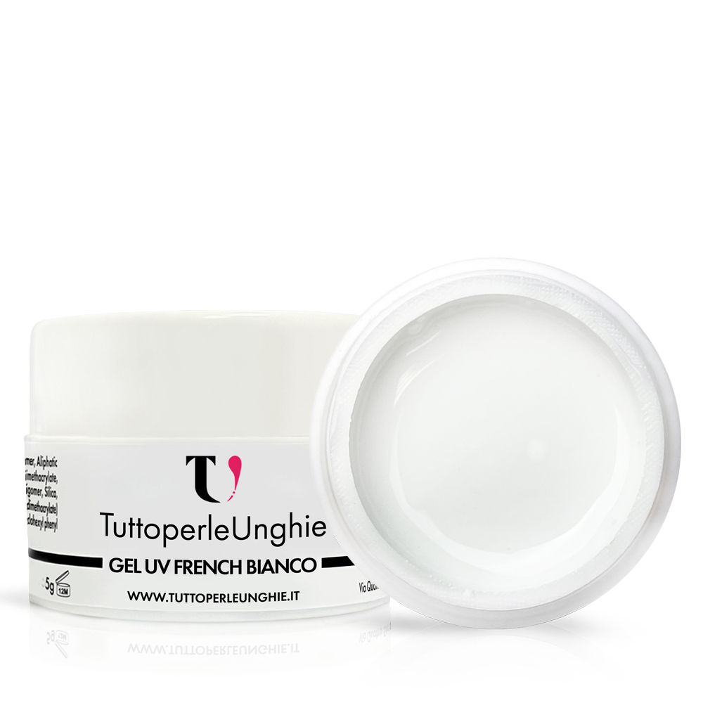 Gel UV French Bianco 5 g
