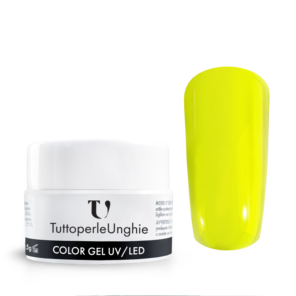 Gel UV / Led Neon Giallo 5 g