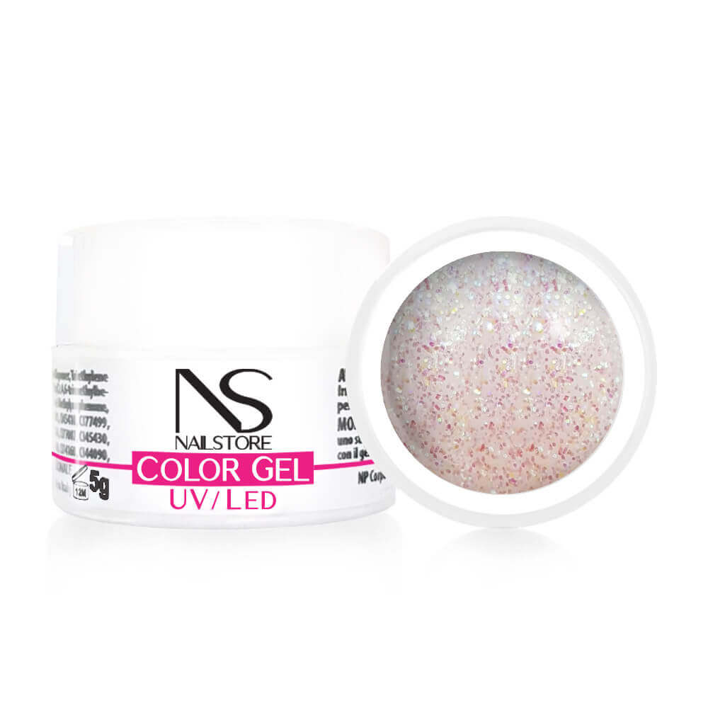 Gel UV / Led Glitter Olografico Iridescente 5 g