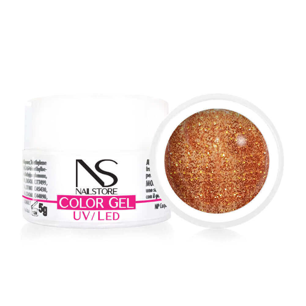 Gel UV Bronzo Glitter