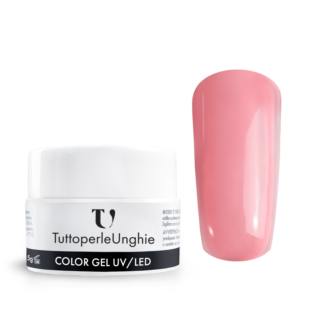Gel UV / Led Rosa Pastello Fluorescente 5 g