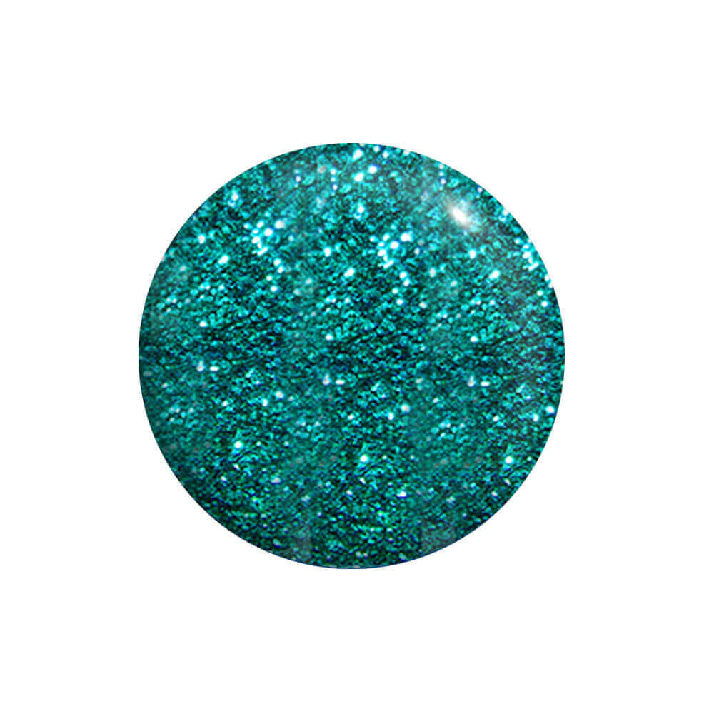 Gel UV / Led Verde Glitter Profondo