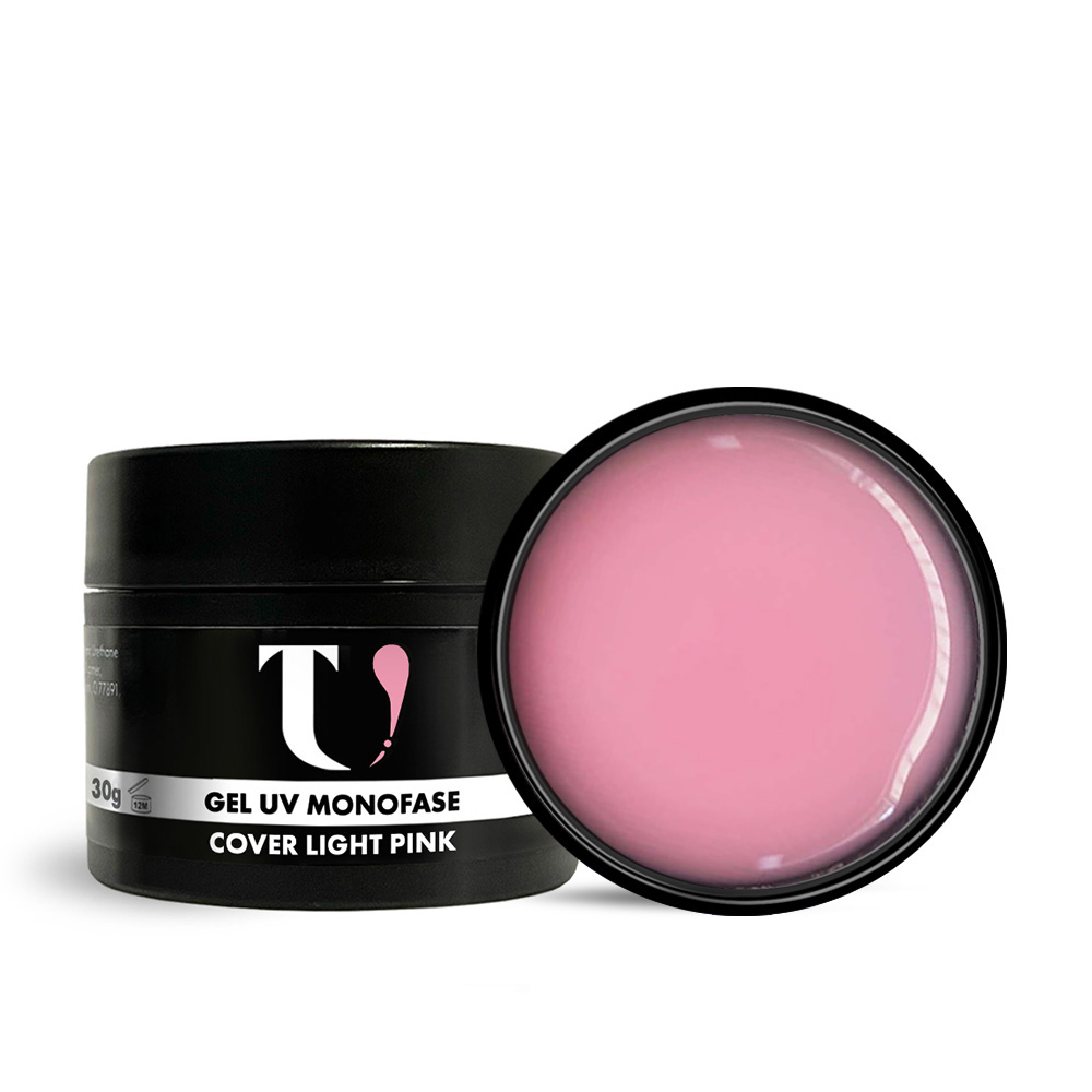 Gel UV Monofase Cover Light Pink 30g