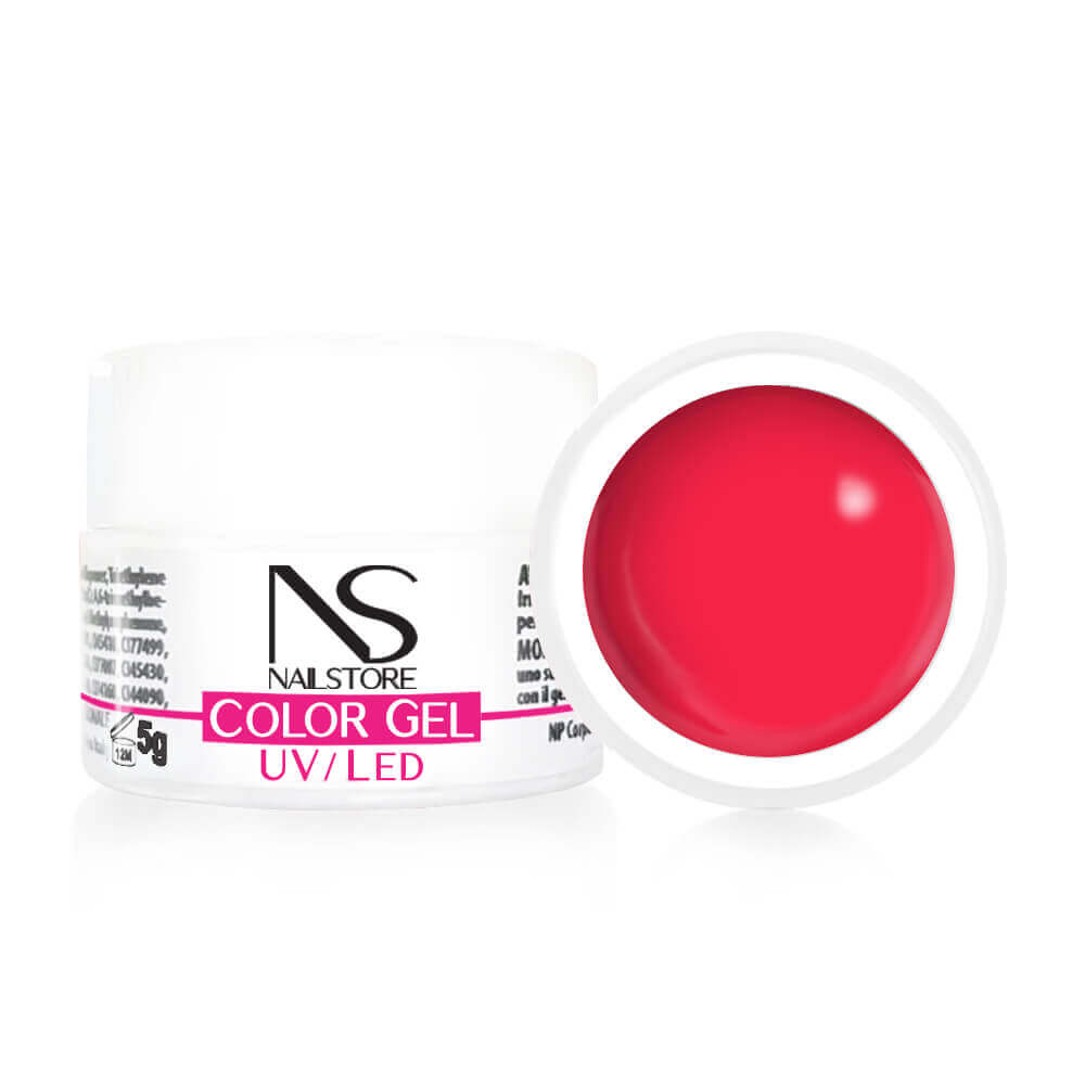 Gel UV / Led Rosso Corallo 5 gr