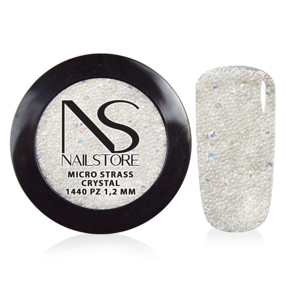 Micro Strass Crystal 1440 pz  1,2 mm
