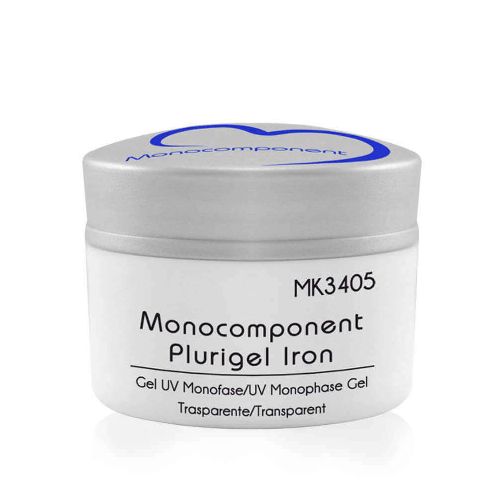 Gel UV Monocomponent Plurigel Iron 20g