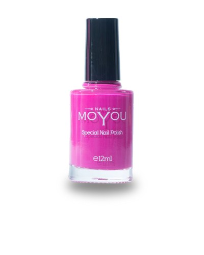 Smalto per Stamping MOYOU Shocking Pink