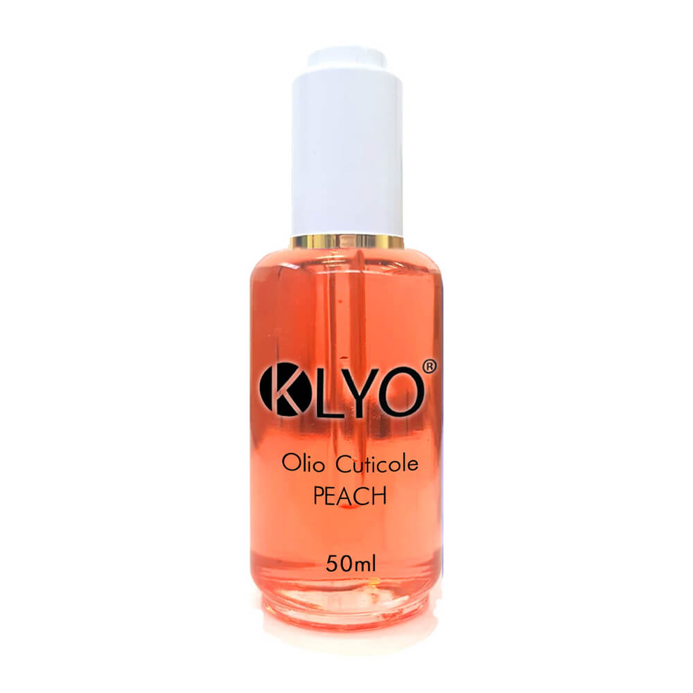 Olio Cuticole Peach KLYO 50ml