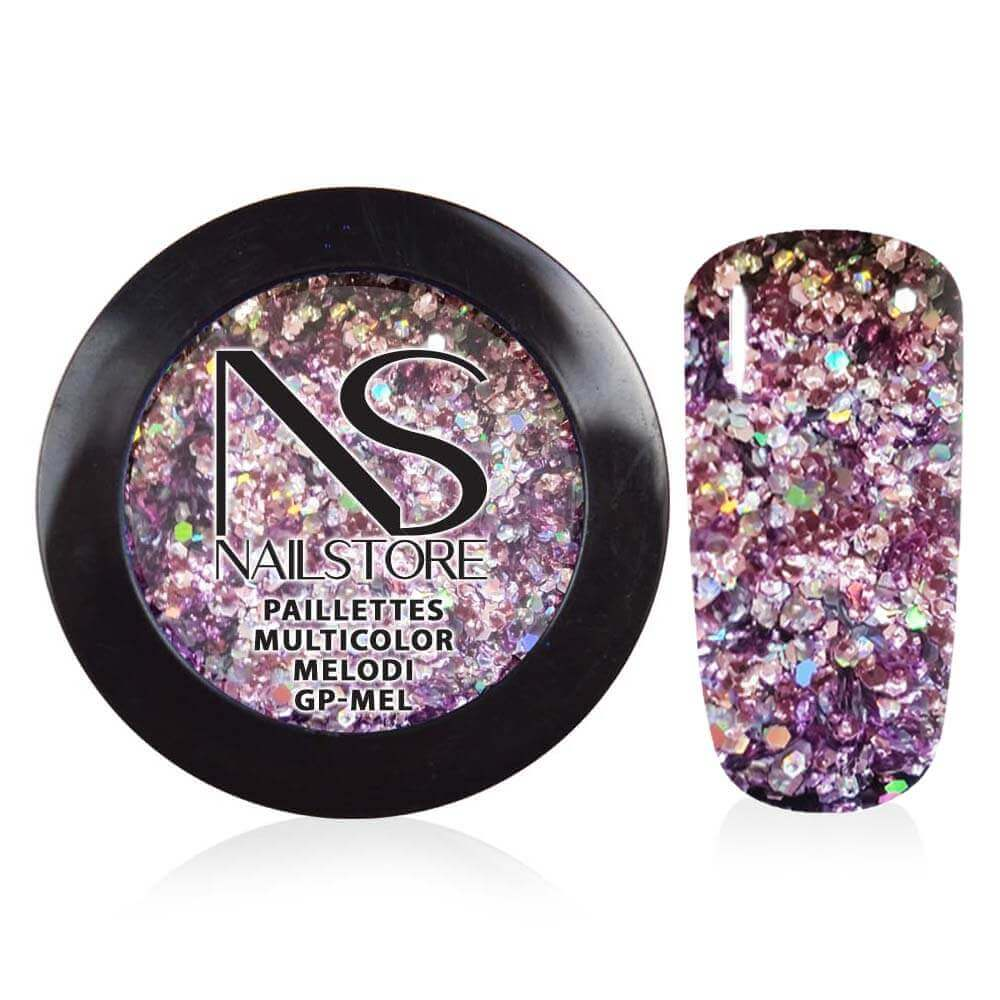 Paillettes Multicolor Melody