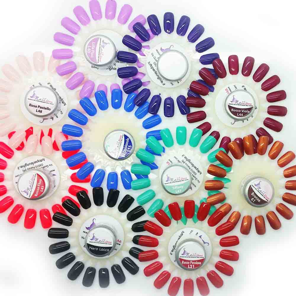 Set Gel UV 10 Colori