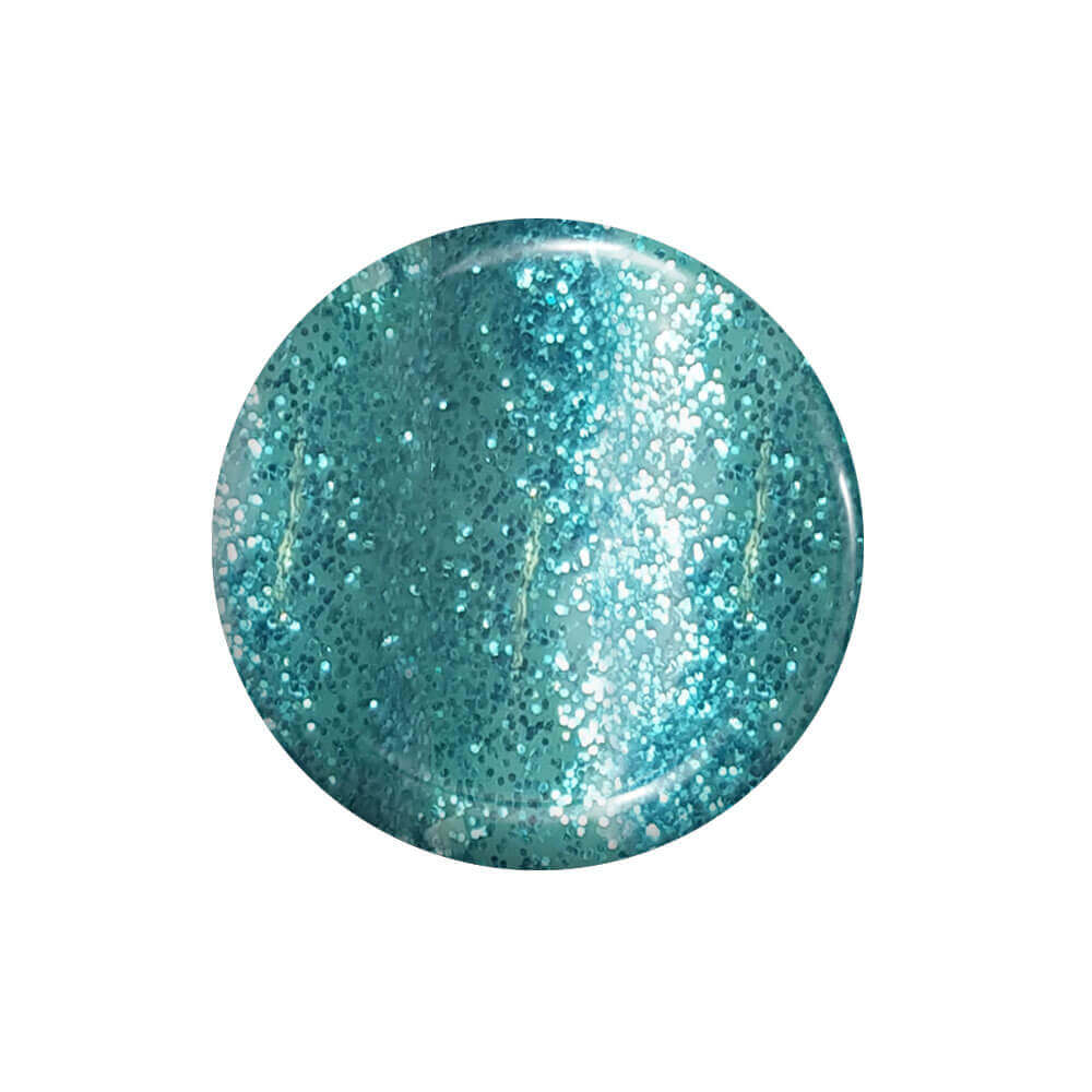 Smalto Semipermanente Glitter Smeraldo 15 ml