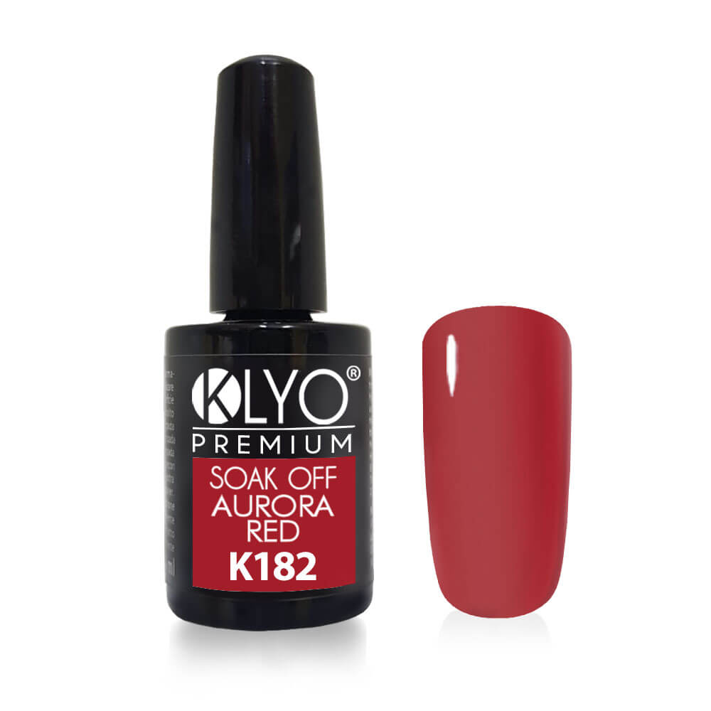 Smalto Semipermanente KLYO Aurora Red 14 ml
