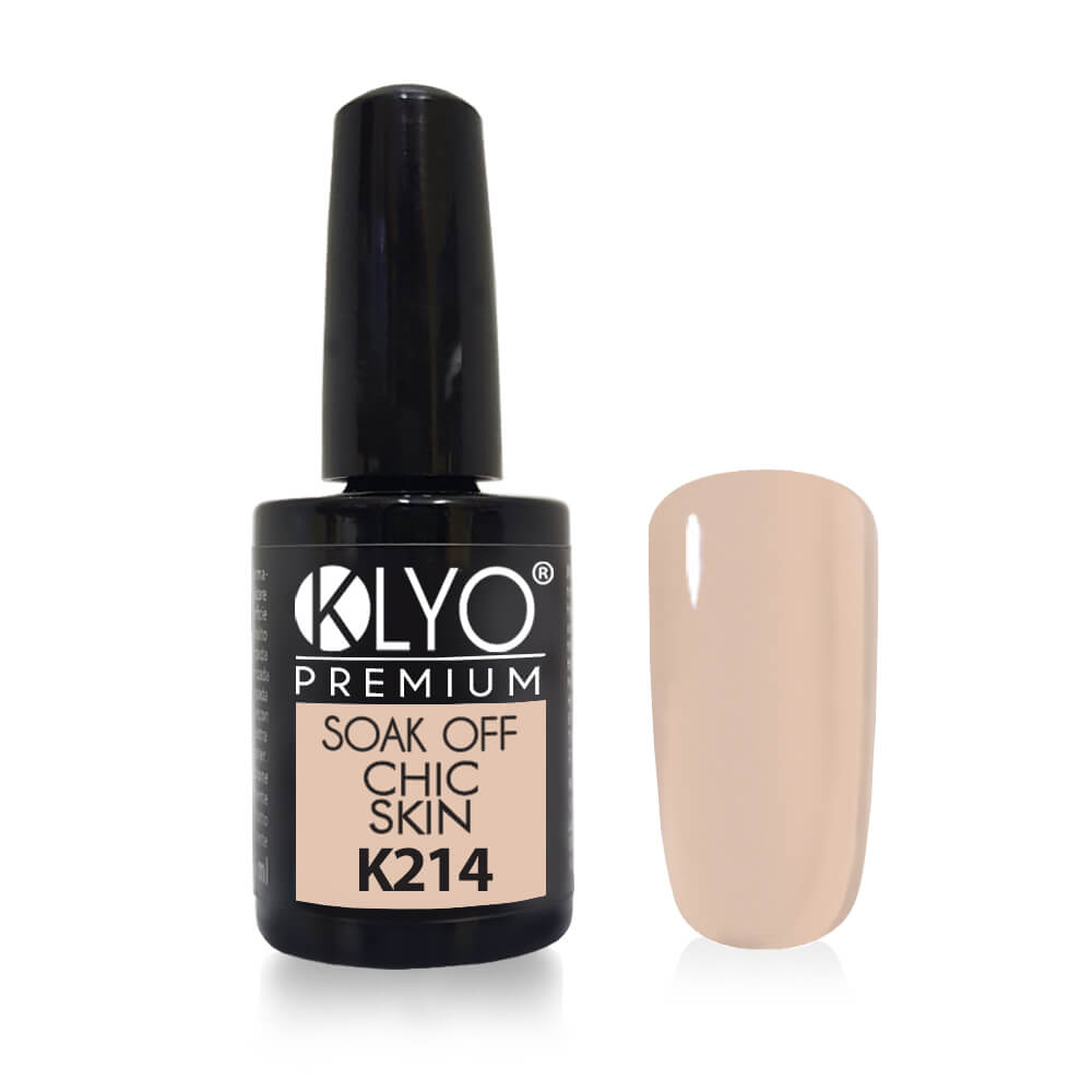 Smalto Semipermanente KLYO Chic Skin 14ml