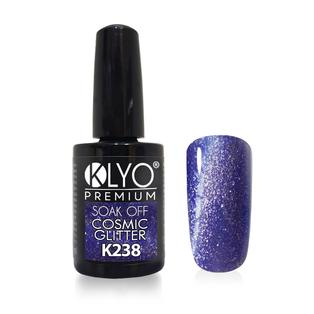 Smalto Semipermanente KLYO Cosmic Glitter 14ml