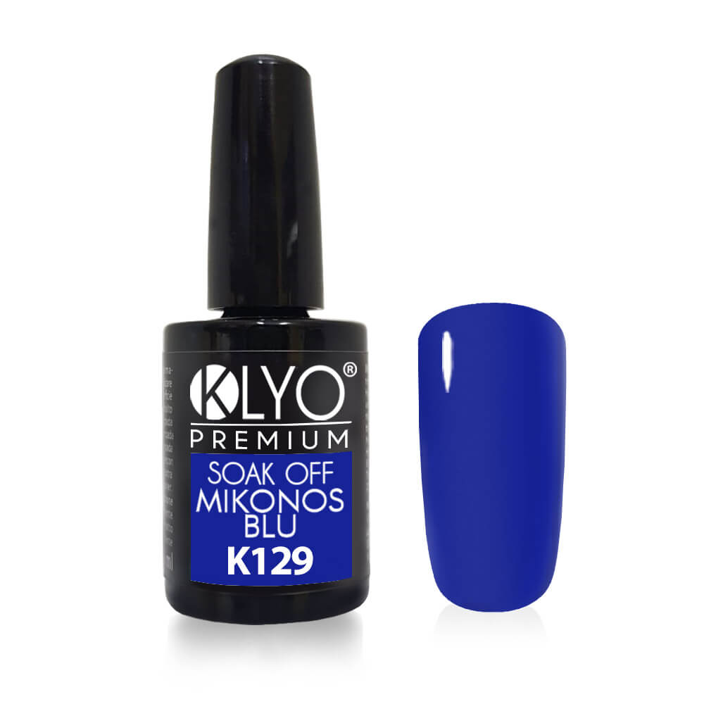 Smalto Semipermanente KLYO Mikonos Blue 14 ml