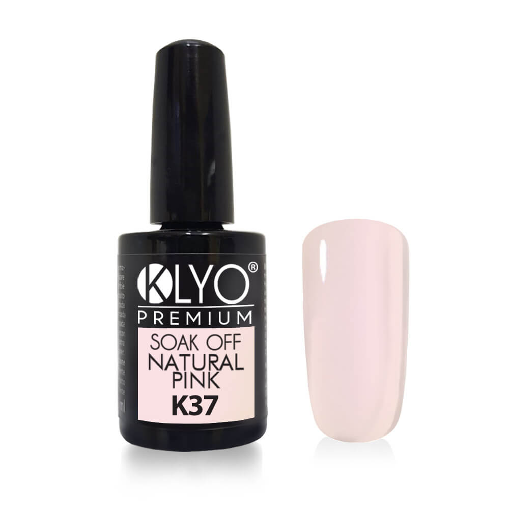 Smalto Semipermanente KLYO Natural Pink 14 ml