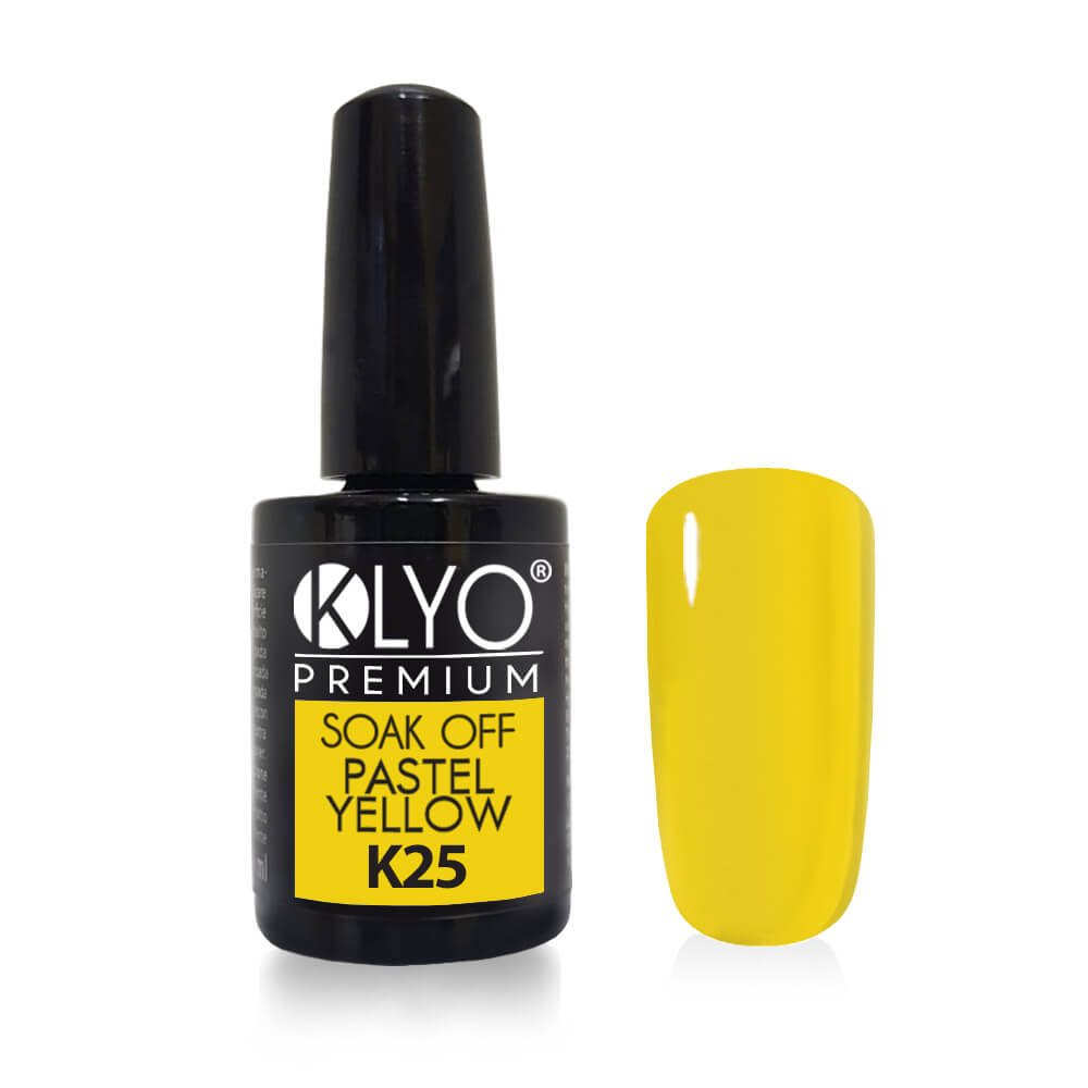 Smalto Semipermanente KLYO Pastel Yellow 14 ml