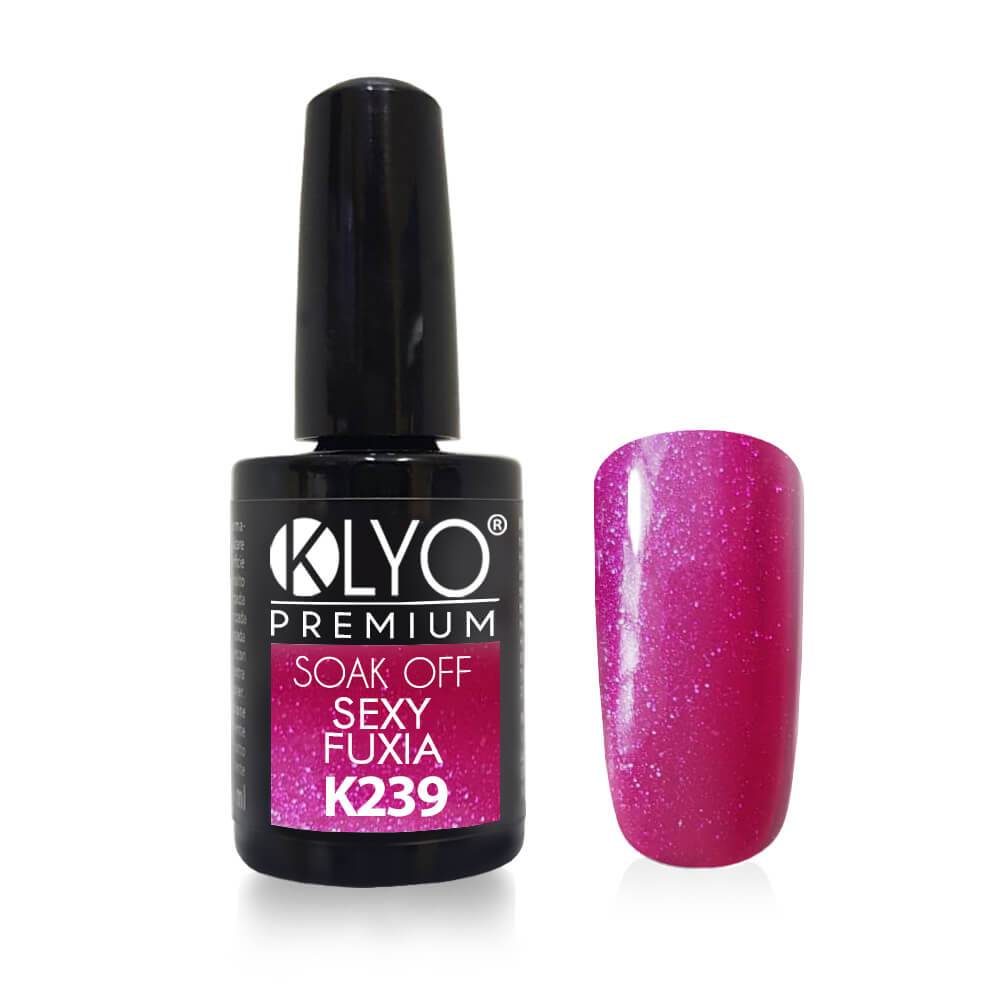 Smalto Semipermanente KLYO Sexy Fuxia 14ml