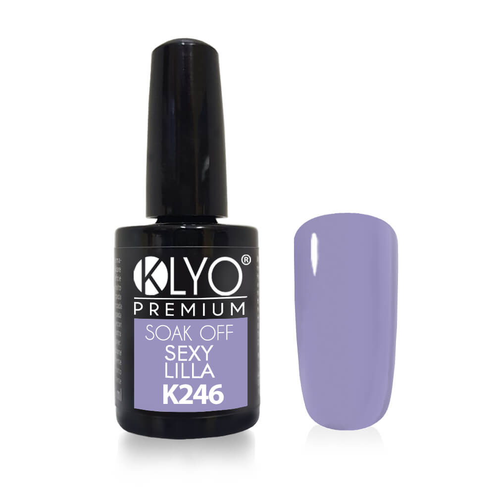 Smalto Semipermanente KLYO Sexy Lilla 14ml