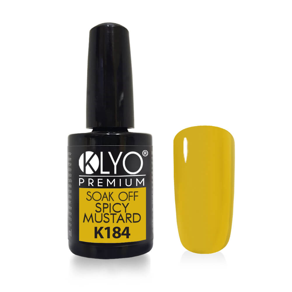 Smalto Semipermanente KLYO Spicy Mustard 14 ml