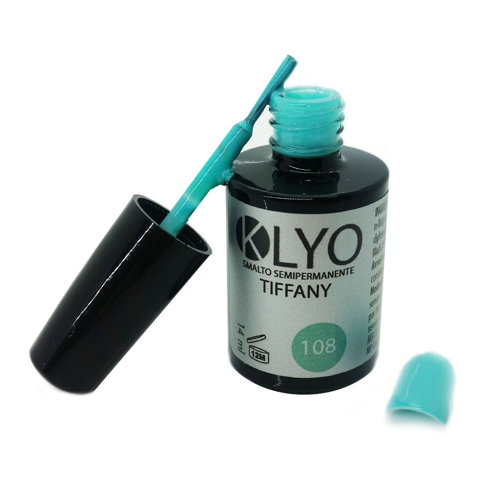 Smalto Semipermanente KLYO Tiffany 14 ml