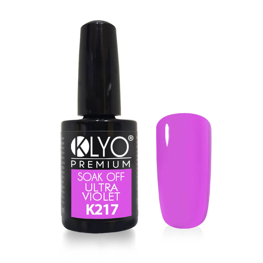 Smalto Semipermanente KLYO Ultra Violet 14ml