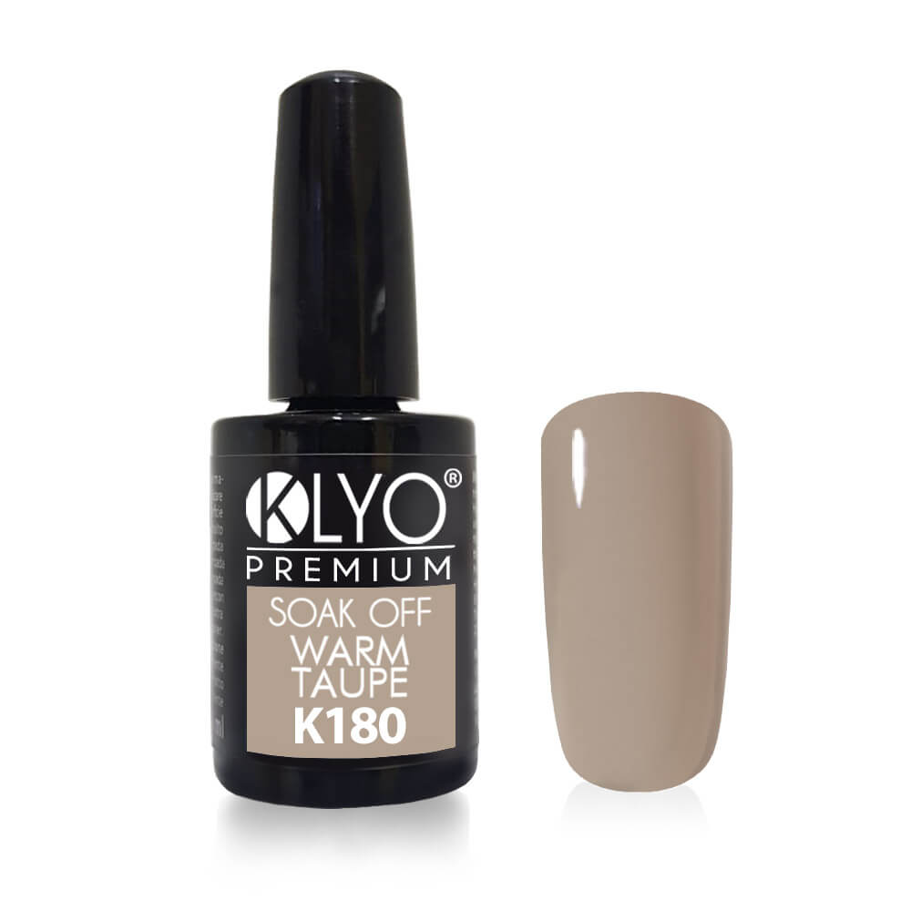 Smalto Semipermanente KLYO Warm Taupe 14 ml