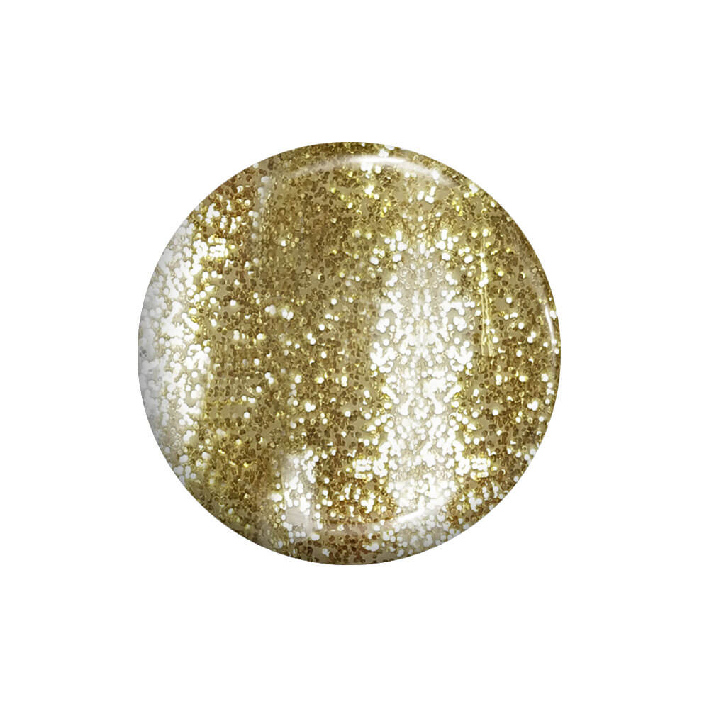 Smalto Semipermanente Oro Glitter 15 ml