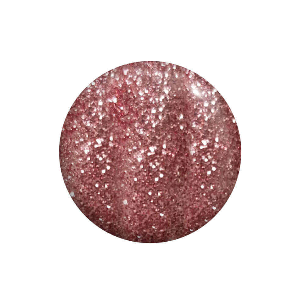 Smalto Semipermanente Rosa Glitter 15 ml
