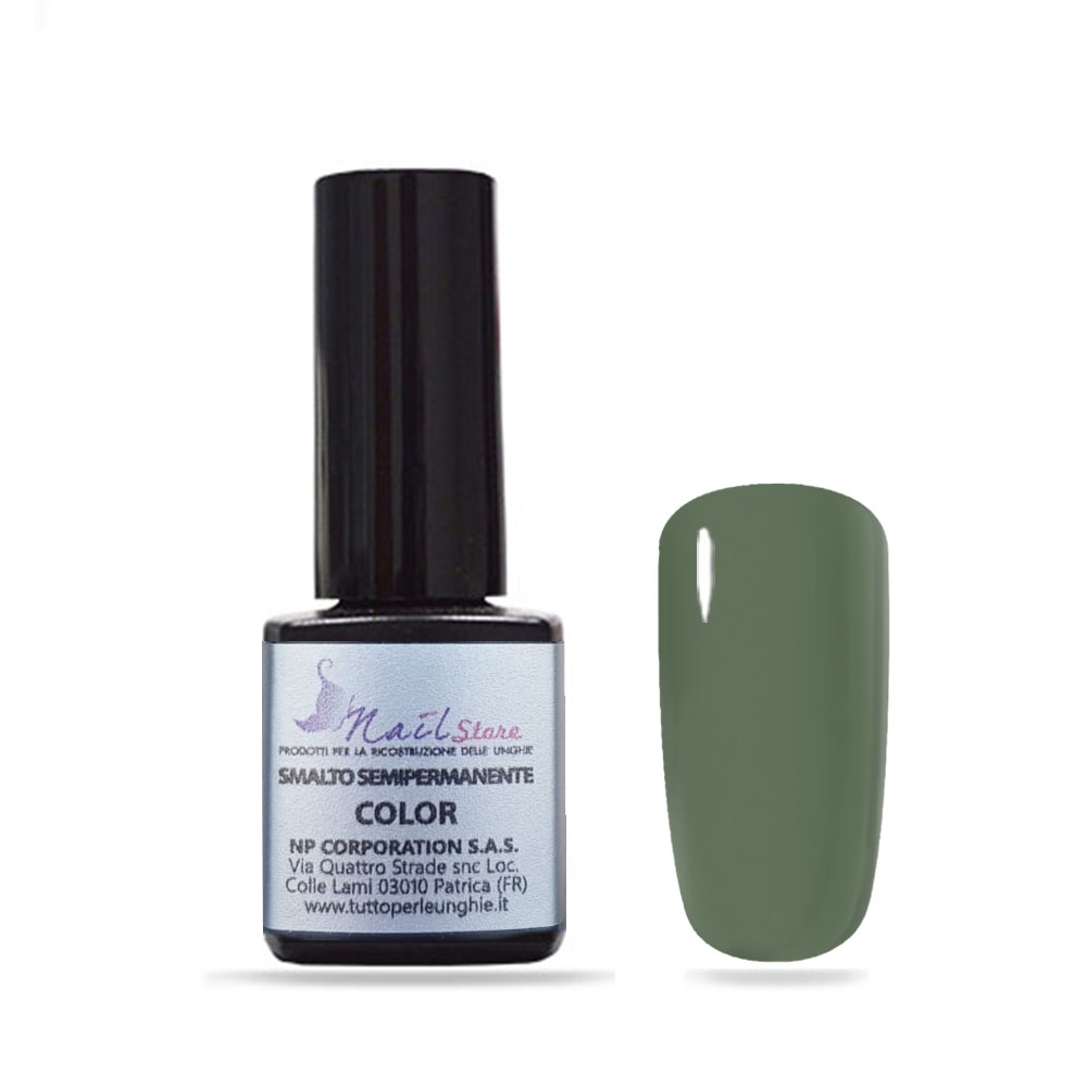 Smalto Semipermanente Verde Oliva 5 ml