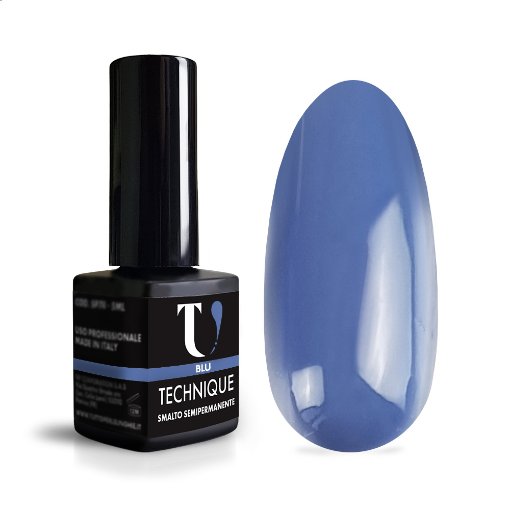 Smalto Semipermanente Blu 5ml