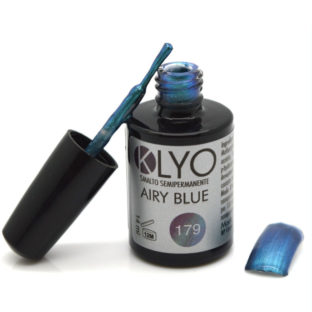Smalto Semipermanente KLYO Airy Blu 14 ml