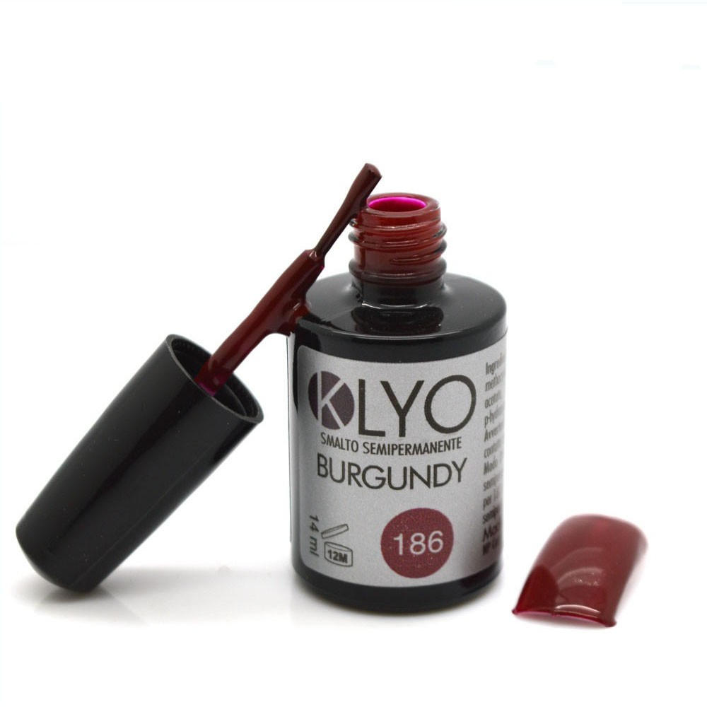 Smalto Semipermanente KLYO Burgundy 14 ml