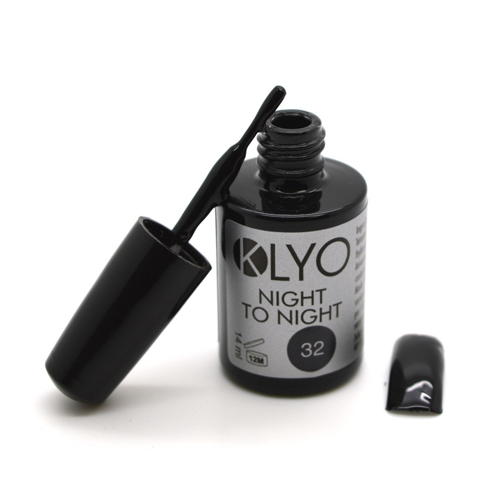 Smalto Semipermanente KLYO Nero Night to Night 14 ml