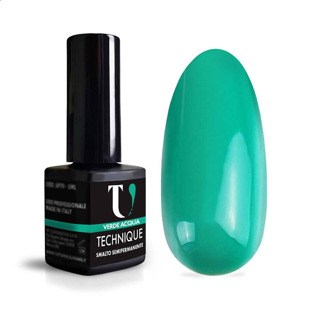 Smalto Semipermanente Verde Acqua 5 ml