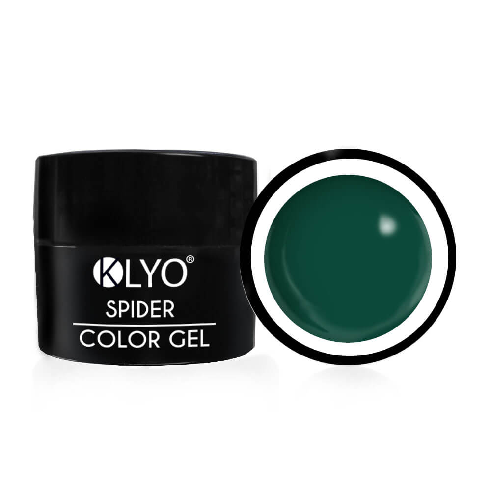 Spider Color Gel Verde KLYO 5ml